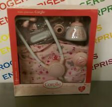 Corolle Mon Premier My First Doctors Set For Small Baby Doll NEW Box Ripped