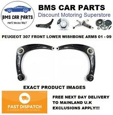 Peugeot 307 2001-2009 Front Lower Wishbone Suspension Arms Pair Left & Right