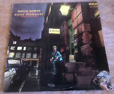 DAVID BOWIE ziggy stardust 1972 UK RCA VICTOR 6E/4E + INNER GEM/NO MAINMAN VINYL