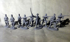 1 /32 American Civil War Confederate Cavalry - Gray Plastic