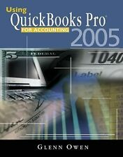 Using QuickBooks  Pro  2005 for Accounting (with CD-ROM)