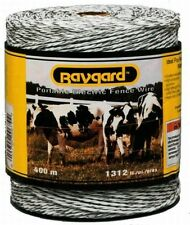 Parker mccrory mfg company 679 1312 ft. Heavy Duty Electric Fence Wire, White