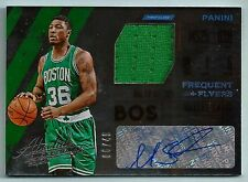 MARCUS SMART 2015/16 PANINI ABSOLUTE FREQUENT FLYERS GAME WORN JERSEY AUTO /49