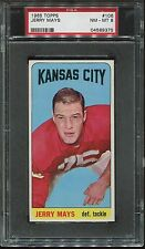 1965 Topps Football #106 Jerry Mays psa 8 Nm-Mt