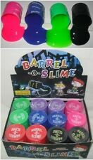 12 Pcs LARGE Barrel O Slime joke gag prank toy trick party supply favor