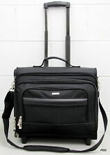Solo Rolling Laptop Bag Computer Travel Overnight Black Catalog Case Wheels