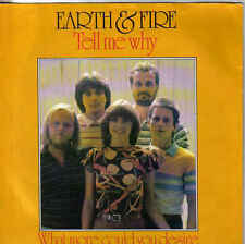 Earth&Fire-What More Could You Desire vinyl single