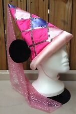 Pink Princess Minnie Mouse Ears Hat Disney World Youth Costume Sparkly Plush