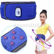 Electric Abdominal Tummy Fat Burner Slimming Lose Weight Fitness Massage Belt