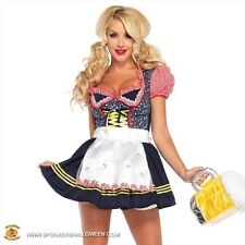 Leg Avenue Beer Stein Babe Sexy Oktoberfest Costume Size Large Style 85220