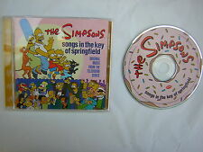 CD music  - SONGS IN THE KEY OF SPRINGFIELD