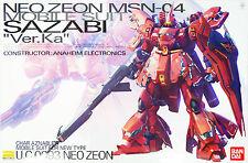 "Bandai MG 851352 GUNDAM Neo Zeon MSN-04 Sazabi ""Ver. Ka"" 1/100 scale kit"