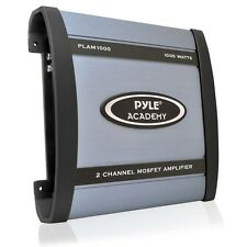 NEW Pyle PLAM1000 1000 Watts 2 Channel Bridgeable Car Amplifier