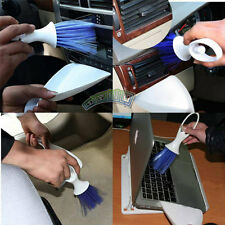 Car Accessories Air Outlet Dashboard Computer Keyboard Cleaning Brush + Dustpan