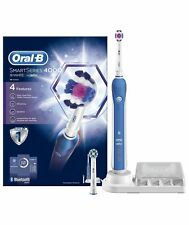 Oral B Smart Series 4000 3D White Rechargable Electric Bluetooth Toothbrush