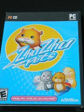 ZhuZhu Pets  (PC, 2010) Factory Sealed, New, Complete