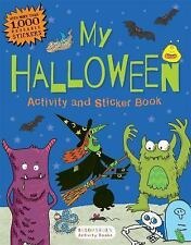 My Halloween Activity and Sticker Book by Bloomsbury (2016, Paperback)
