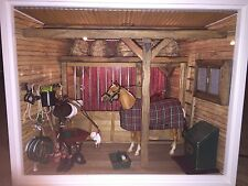 American Girl MINI.S Illuma Room Horse Stable with Glitter, Glitz Breyer