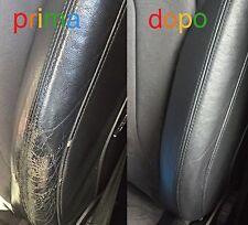 Kit Rinnova Colore Spallina Pelle Audi A3 TT NERO Ritocco Interni Cabrio A4 Q5 S