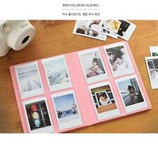 Korea 2nul LARGE Photo Album Card Holder PINK for Fuji instax Mini Instant Film