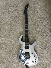 Parker Fly Deluxe Electric Guitar Silver