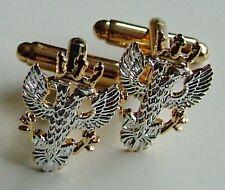 MERCIAN REGIMENT CLASSIC HAND MADE GOLD PLATED REGIMENTAL CUFFLINKS