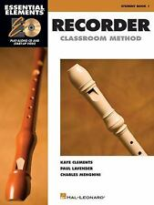 Essential Elements Recorder Classroom Method Bk. 1 by Charles Menghini, Paul...