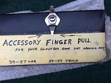 1953 54 55 56 57 Chevy 150 210 Bel Air NEW Accessory Glove Box Finger Pull