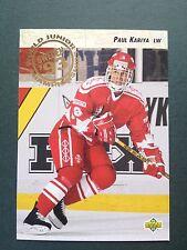 1992-93 Upper Deck #586 Paul Kariya