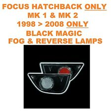 Ford Focus Mk1 & 2 1998   2008 Black Magic Fog & Reverse Lexus Style Rear Lights