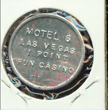 MOTEL 6 LAS VEGAS PREMIUM TOKEN (3g579) (Game Room) Very Tuff To Find!!!