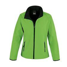 Womens Ladies Softshell Leisure Workwear Coat Jacket 7 Colours 8 - 18 Free PnP