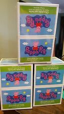 NEW Peppa Pig Chocolate Egg Toy Surprise Box of 6 Free Shipping