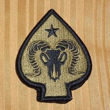 ARMY PATCH,17TH SUSTAINMENT BRIGADE  ,MULTI-CAM,SCORPION, WITH VELCR