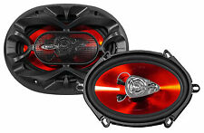 "Pair Boss Audio CH5730 300 Watt 5x7"" Car Audio Stereo Coaxial 3-Way Speakers"