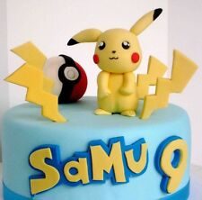Pokemon Themed Edible Cake Topper Cake Decoration Children's Birthday