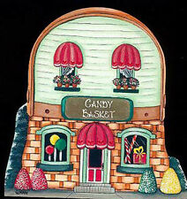 Brandywine Collectibles BASKET VALLEY Houses & Shops THE CANDY BASKET