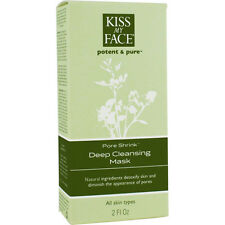 Kiss My Face Potent Pore Shrink Natural Deep Detoxifying Cleansing Mask 2 oz