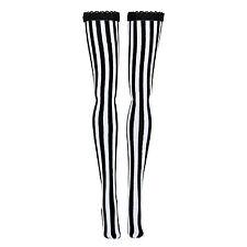 Monster High® Doll - B&W Vertical Stripe - Stockings - Leggings