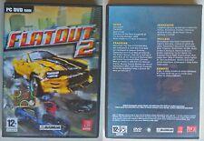 Flatout 2 - Gioco PC GAME DVD + Altro DVD di Giochi DEMO, Etc.