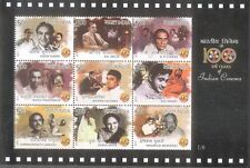 INDIA 2013 Miniature of 100 Years of Indian Cinema MNH 1/6 : SL118