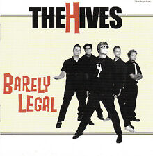 CD 14T THE HIVES BARELY LEGAL DE 1997 MADE IN SWEDEN
