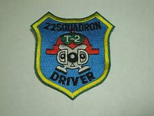 Japan Air Self Defense Force JASDF 22 Squadron Driver T-2 Military Sew On Patch