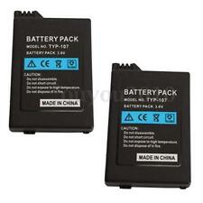 New 2pcs 3600mAh 3.6V Replacement Rechargeable Battery For Sony PSP 2000/3000