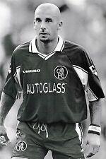 Football Photo GIANLUCA VIALLI Chelsea 1997-98