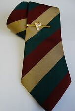 Gift Set - THE MERCIAN REGIMENT Polyester Tie & Tie Grip
