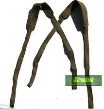 ITALIAN ARMY WW2 37 PATTERN CROSS OVER SHOULDER STRAPS ( SAME AS BRITISH )