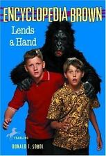 Encyclopedia Brown Lends a Hand-ExLibrary