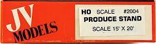 JV Models HO/HOn3 Roadside Produce Stand or Bait Shop (2004)