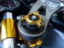 FORK PRE LOAD ADJUSTERS 17MM GOLD APRILIA RSV1000 MILLE FACTORY R 17MM  NEW R1C9